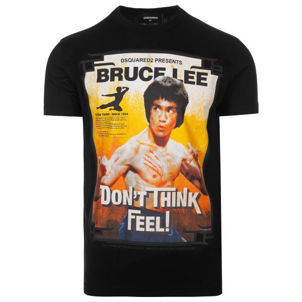 DSquared2 Bruce Lee Graphic Print T-Shirt